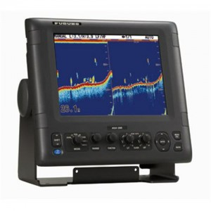 "Furuno FCV 295 3kW 10.4"" LCD digital fish finder for deep water fishing"