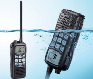 Icom IC-M35 floating hand held marine VHF radio