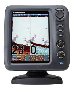 Furuno FCV587 fish finder sounder package