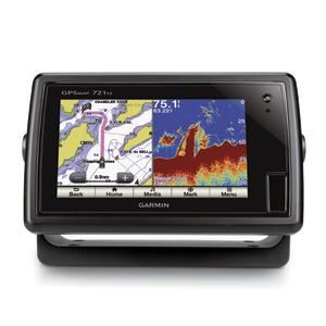 Garmin GPSmap 751xs touch screen GPS/fishfinder with CHIRP