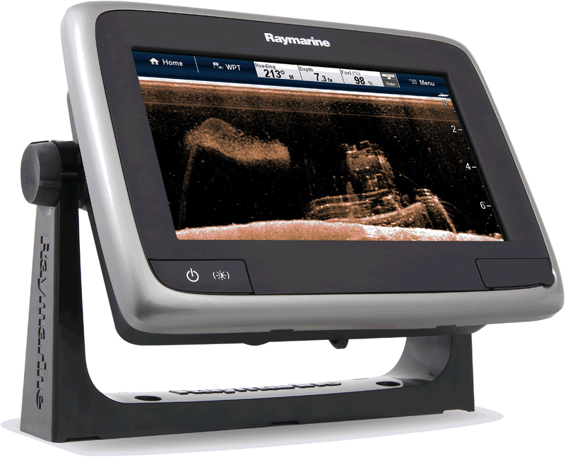 Raymarine A78 with dragonfly