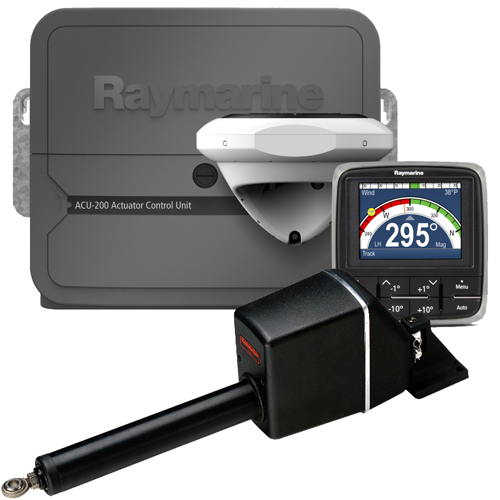 Raymarine EV200 linear sailboat autopilot pack