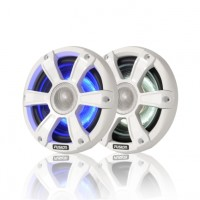 Fusion SG-FL65SPW Signature series marine speakers with LED