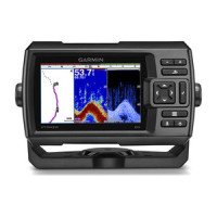 Garmin Striker 5dv CHIRP Fishfinder with GPS Waypoint Plotter and DownVu
