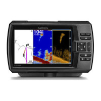 Garmin Striker 7dv CHIRP Fishfinder with GPS Waypoint Plotter and DownVu