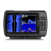 Garmin Striker 7sv CHIRP Fishfinder with GPS Waypoint Plotter and DownVu SideVu