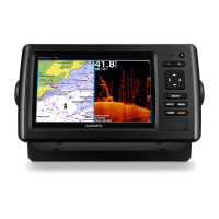 Garmin echoMAP CHIRP 75dv GPS Fishfinder with DownVu