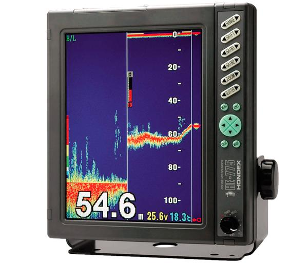 Hondex HE-775-DI 1-3kW 50/200kHz Commercial / Professional Sounder
