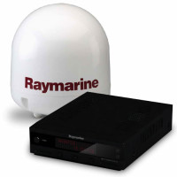 Raymarine marine satellite tv dome for boats