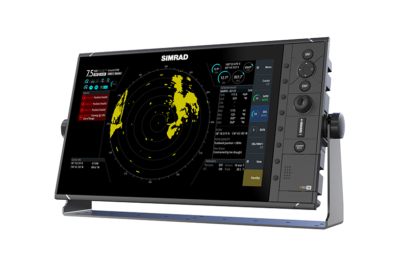 "Simrad r3016 16"" radar display"